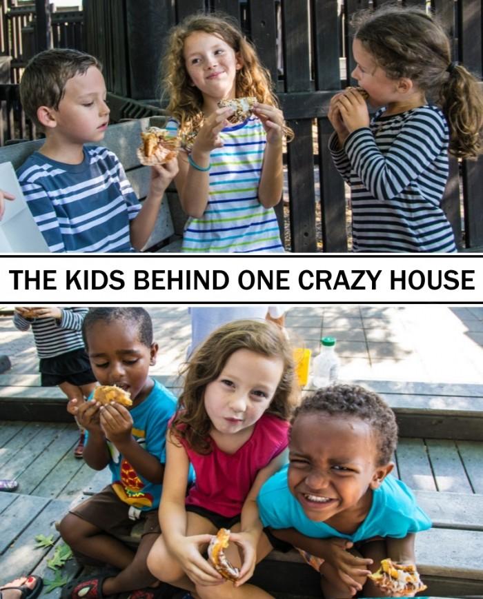 kids behind the blog