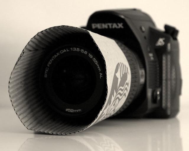 lense hood for your camera diy
