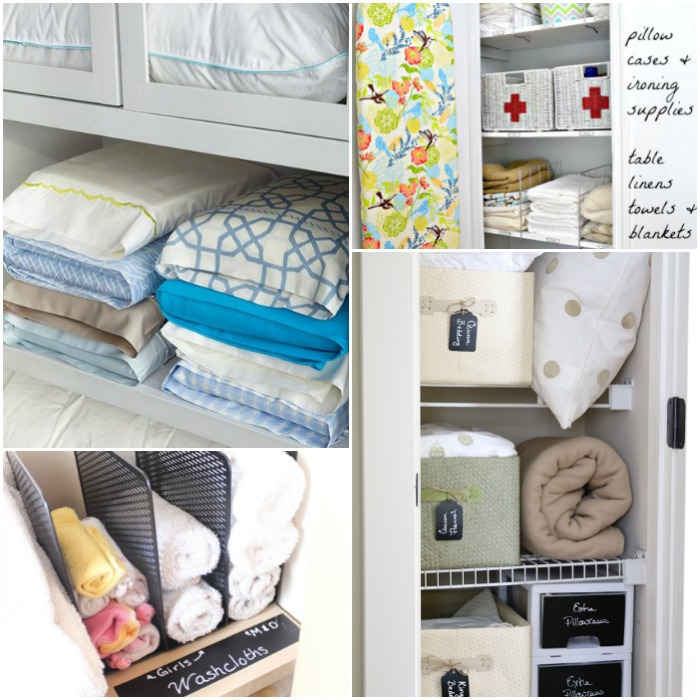 Linen Closet Organization Ideas collection