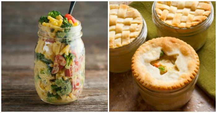 15 Amazing Mason Jar Meals to Eat on the Go