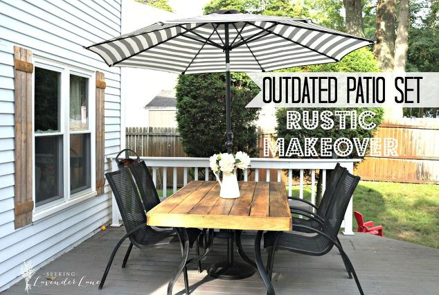 Good Outdoor Furniture Makeovers 13