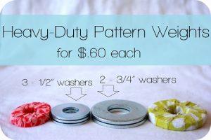 diy fabric weights
