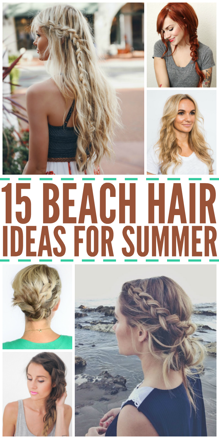 Beach Hairstyles beach hair 7 15 Gorgeous Beach Hair Ideas For Summer
