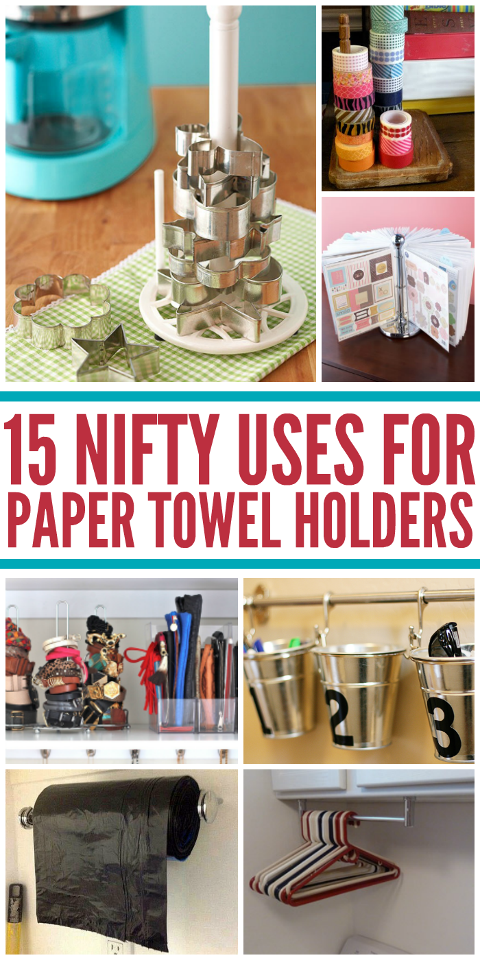 15 Nifty Uses for a Paper Towel Holder