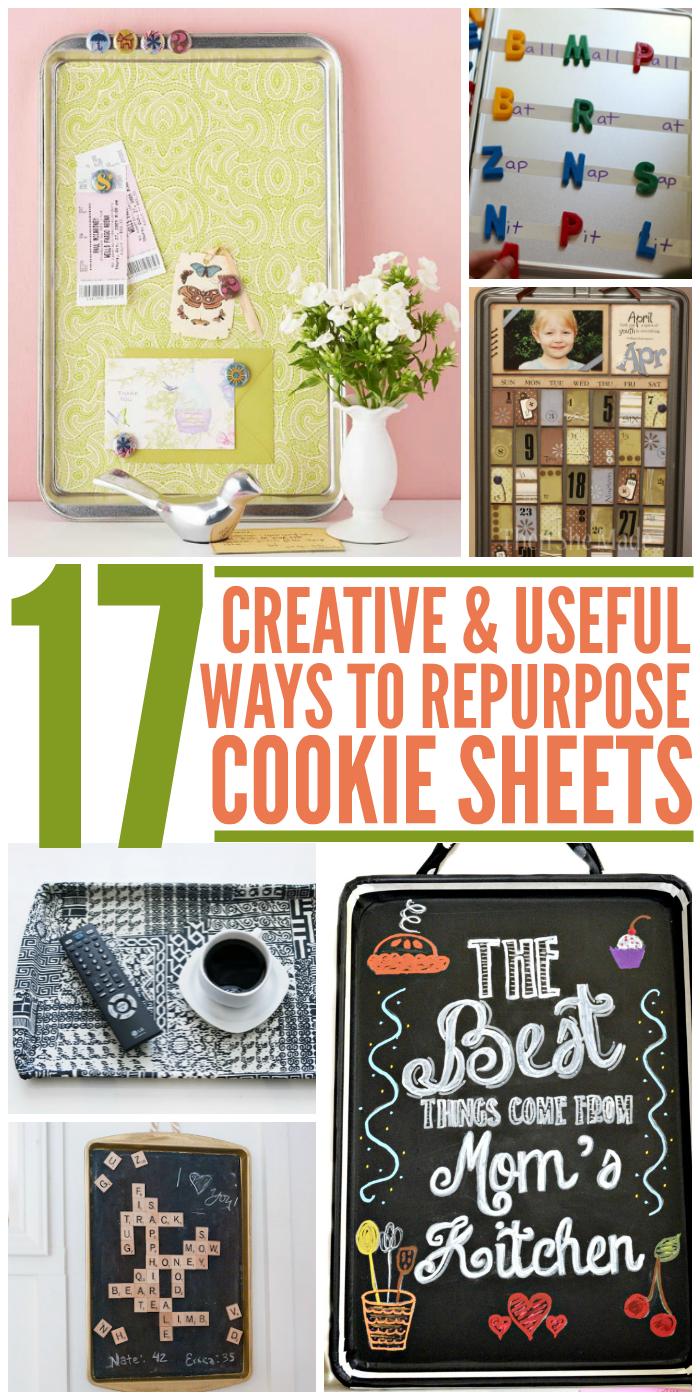 17 Creative Ways to Repurpose Cookie Sheets