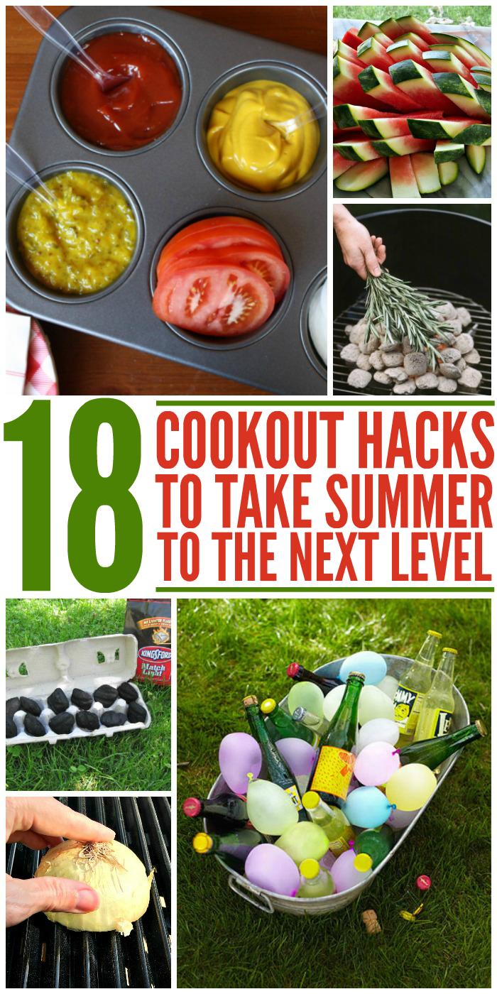Who doesn't love a good cookout? Make yours memorable, and stress-free with these tips and tricks.