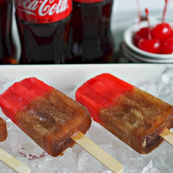 Cherry Coke Popsicle