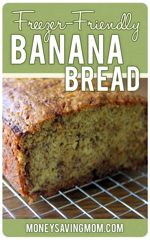 Freezer Meals-16-Banana Nut Bread