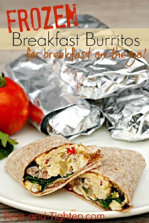 Freezer Meals-5-Breakfast Burritos