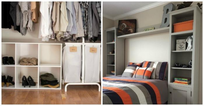 19 bedroom organization ideas