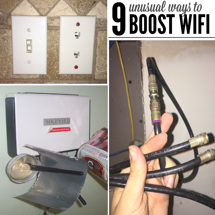 9 genius diy tricks to try to improve your wifi signal. Black Bedroom Furniture Sets. Home Design Ideas