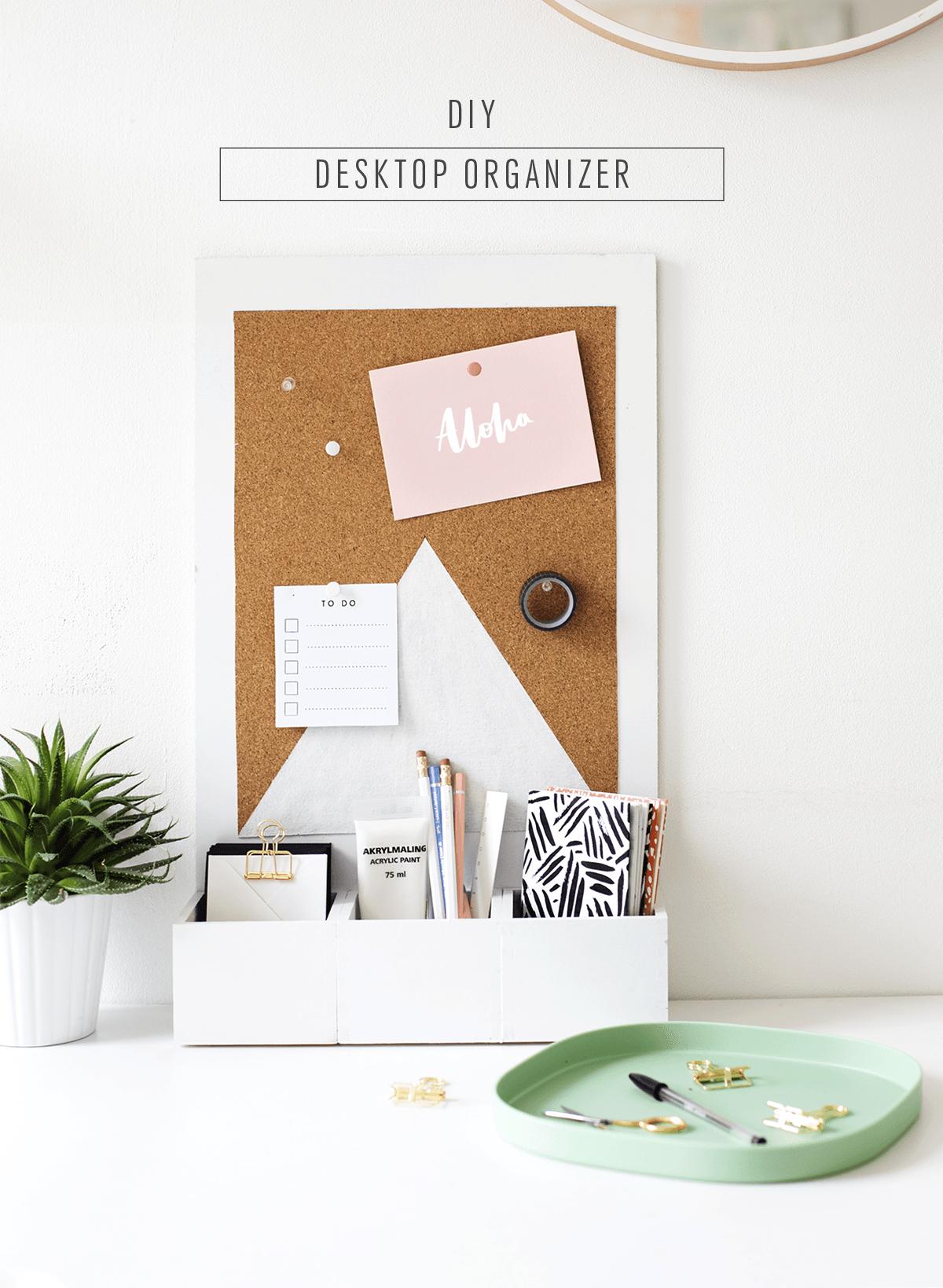 Desk Organization 16 Ideas For The Most Organized Desk Ever