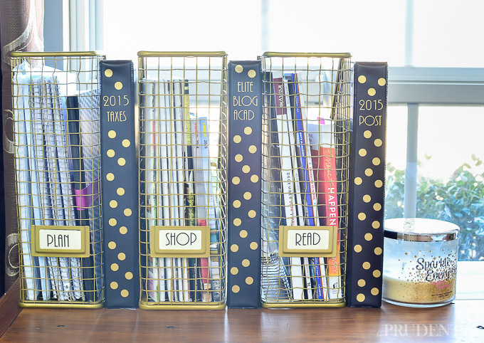 16 ideas for the most organized desk ever for How to organize your desk diy
