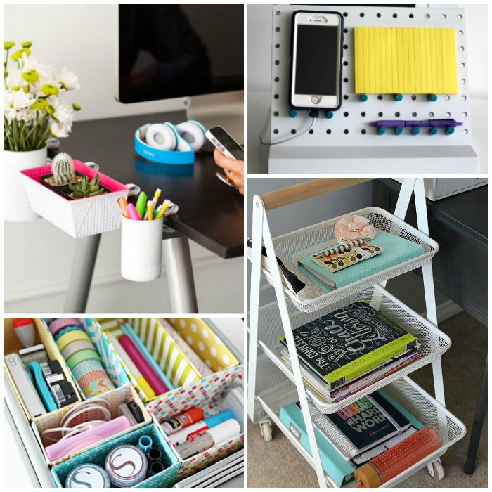 16 ideas for the most organized desk ever - Desk organization ideas ...