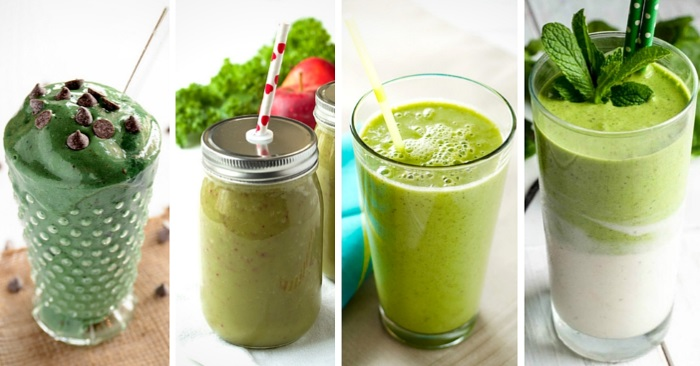 A Month Of Smoothies: 31 Green Smoothie Recipes