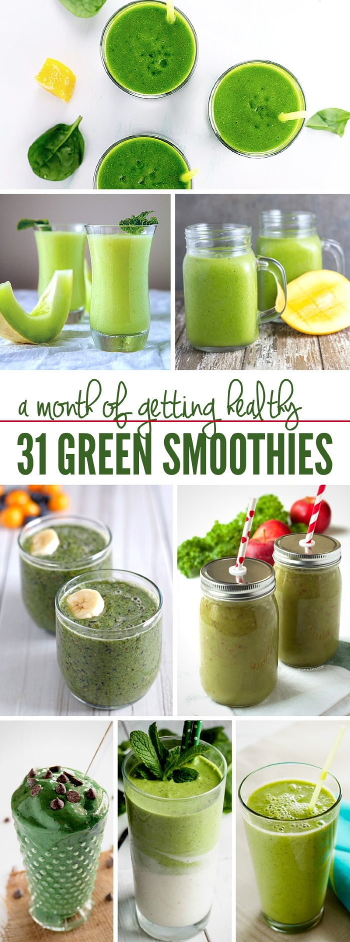 These green smoothie recipes are delicious and tasty! Homemade and packed full of nutrients, you won't want to miss out on these smoothie recipes! #onecrazyhouse #greensmoothierecipes #DIYsmoothies