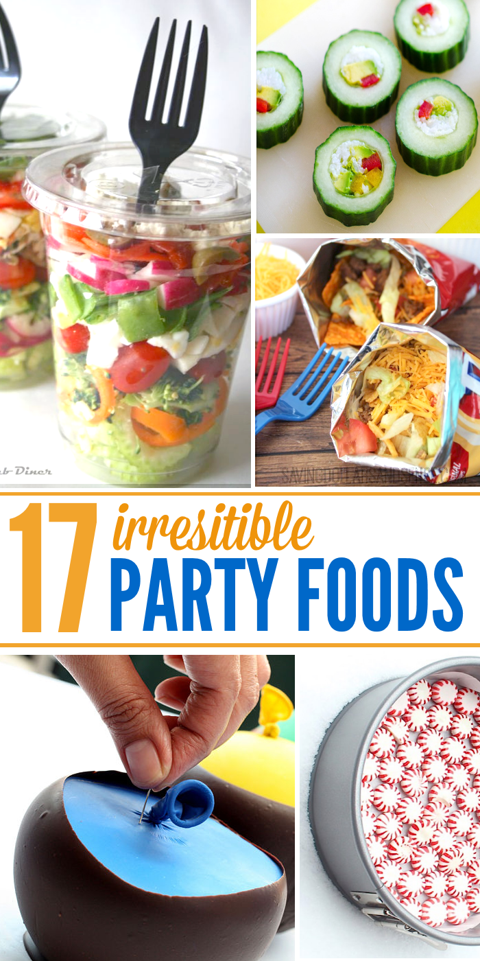 party food ideas tall