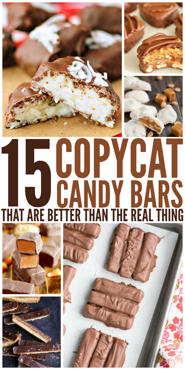 15 Copycat Candy Bars That Are Better Than the Real Thing