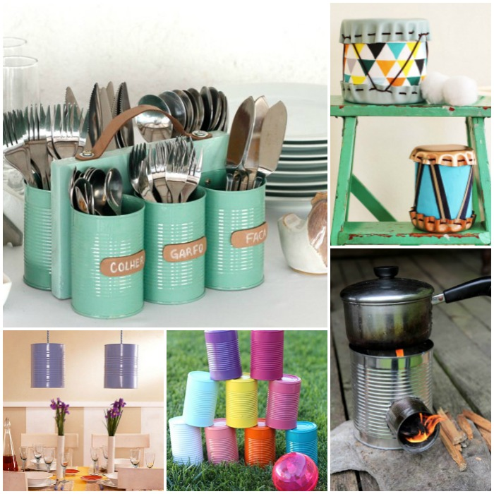 19 unbelievable ways to upcycle a tin can for Tin cans for crafts