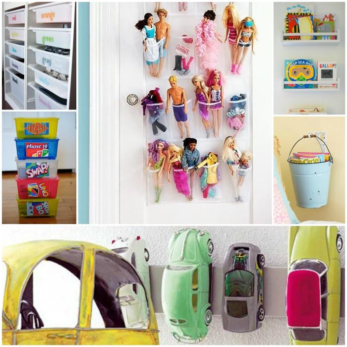 Brilliant Ways to Organize Toys