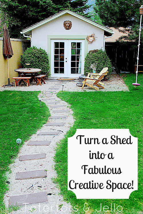 13 shed transformations that 39 ll make your neighbors jealous - An office turned into a home ...