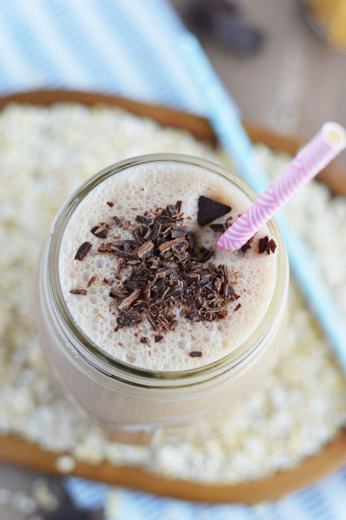 Chocolate-Peanut-Butter-Oatmeal-Smoothies