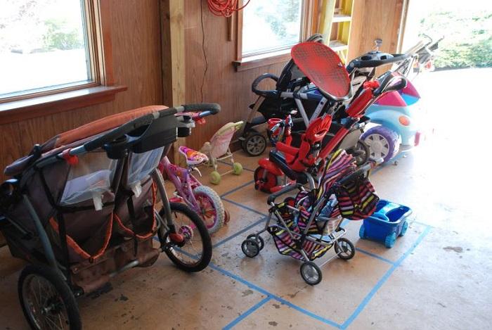 Garage Parking Lot