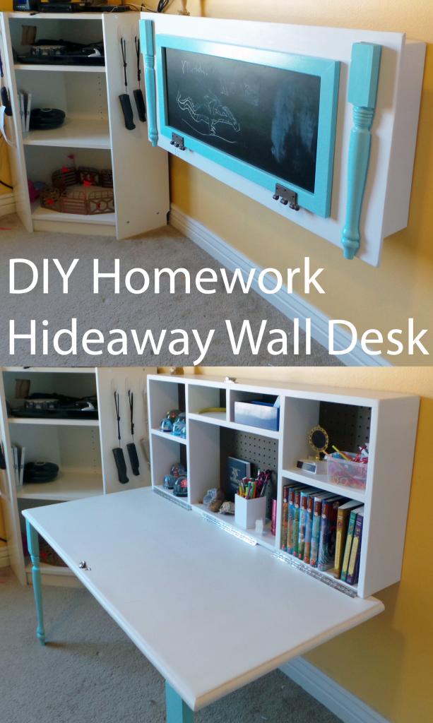 Hideaway Homework Desk