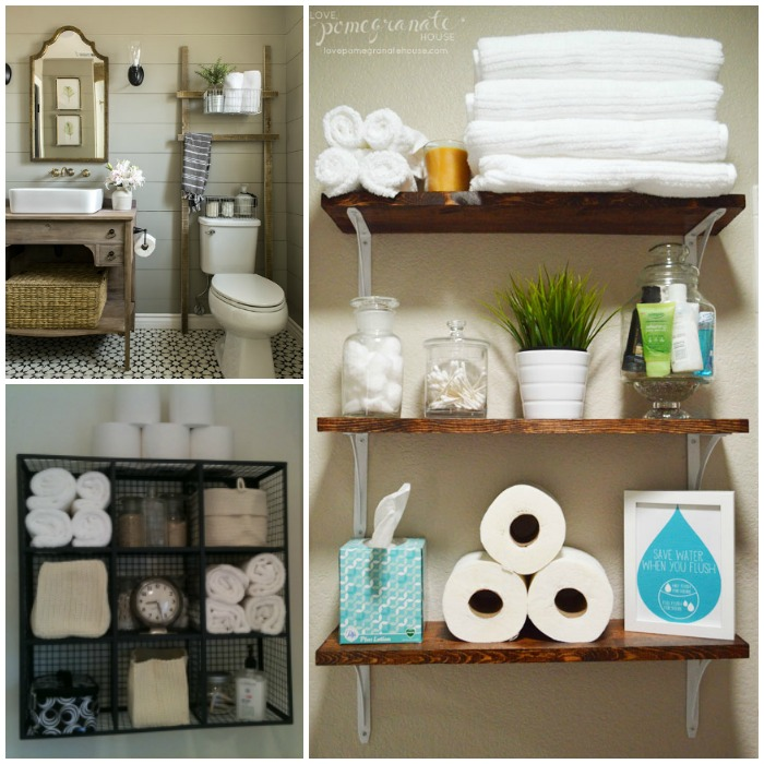Practical Above the Toilet Storage Ideas