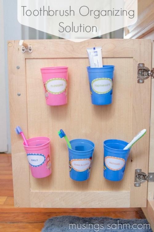 Toothbrush Storage