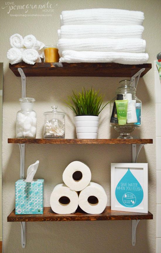 above the toilet storage ideas 1