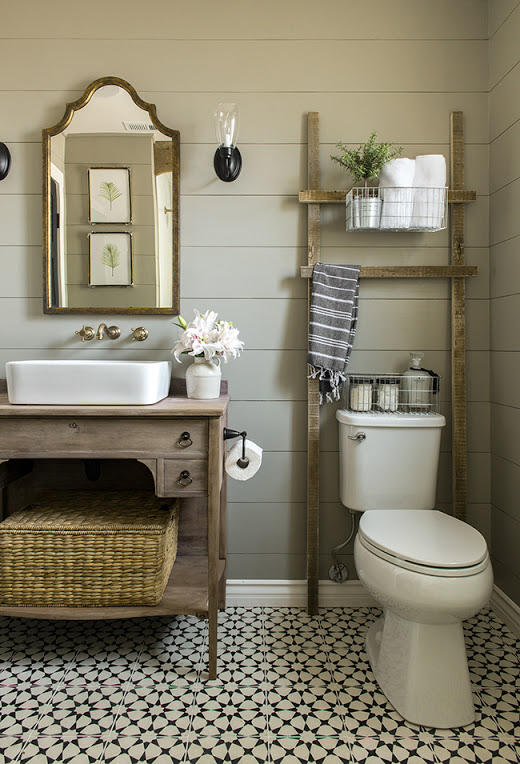 17 brilliant over the toilet storage ideas - What to hang above toilet ...