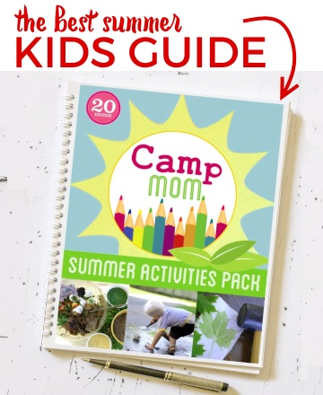 Camp Mom Summer Activities Book
