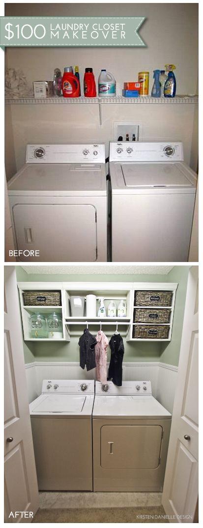 laundry closet ideas 14