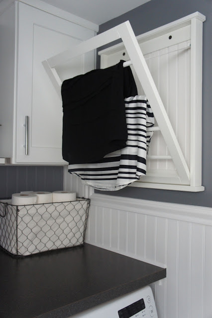 15 laundry closet ideas to save space and get organized Laundry room drying rack ideas