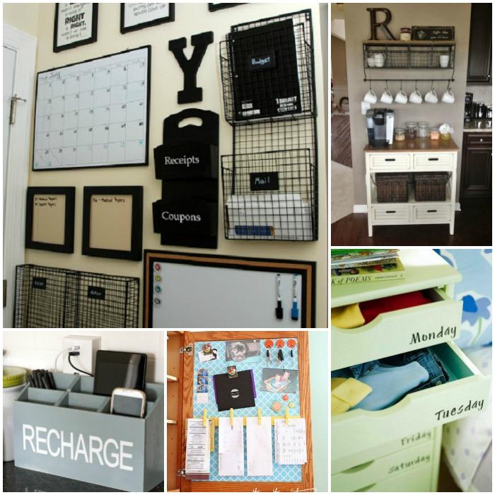 organization station ideas