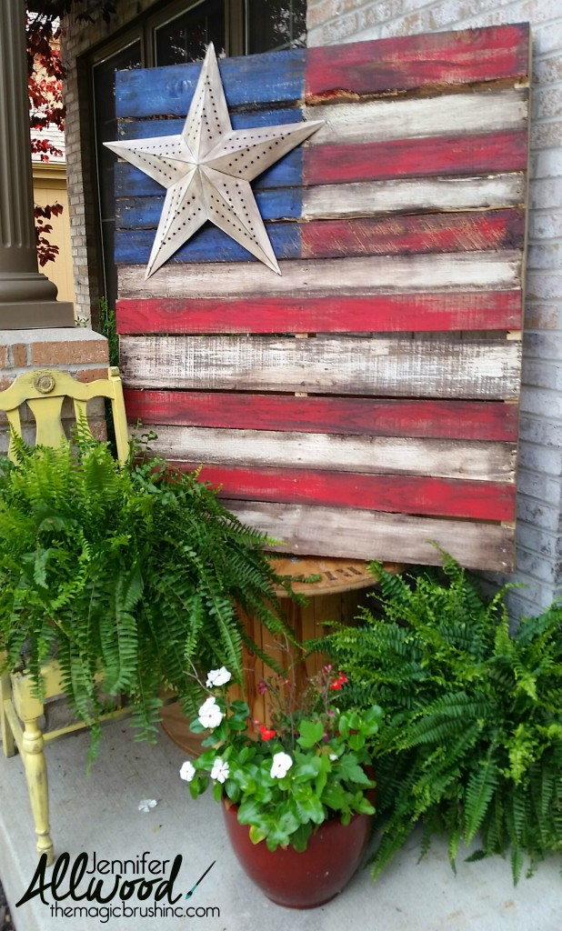 19 gorgeous diy patriotic decor ideas for Patriotic home decorations