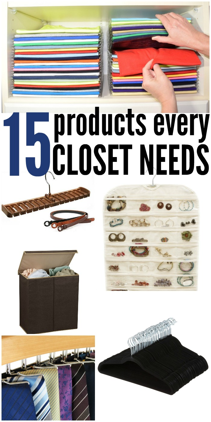 15 Products Every Closet Needs   www.onecrazyhouse.com
