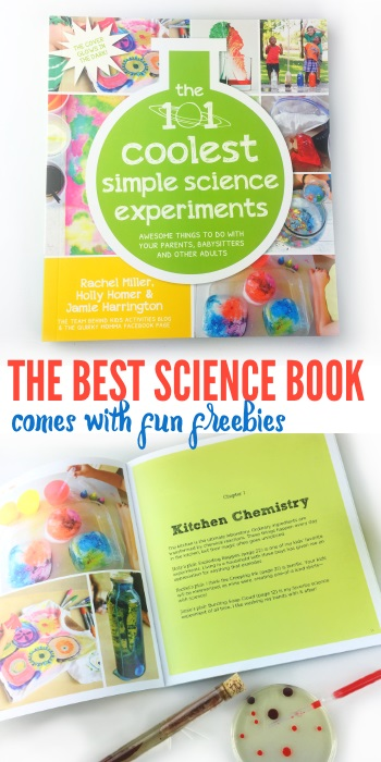101 Kids Science Experiments Book