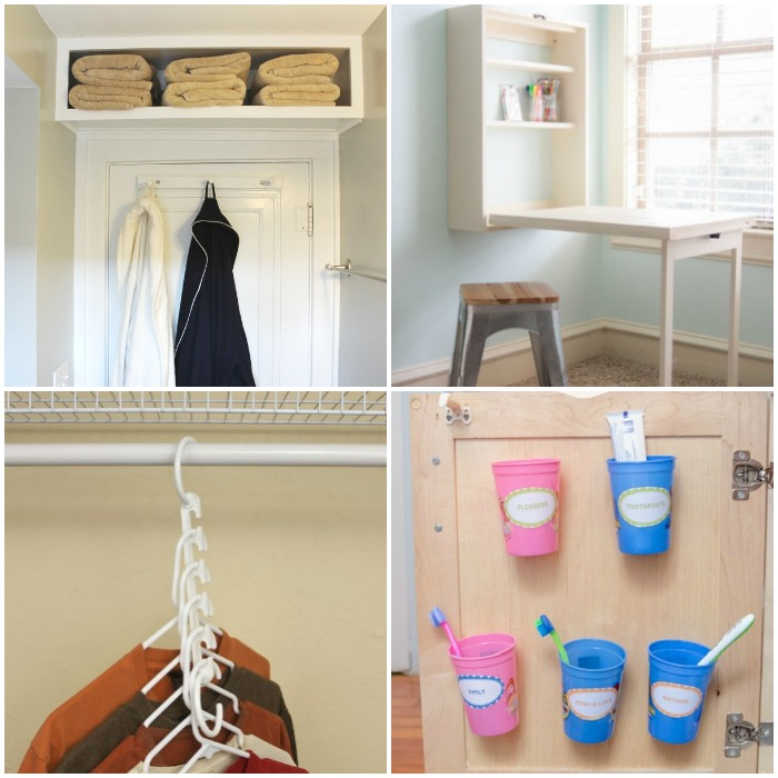 space saving tricks for apartments