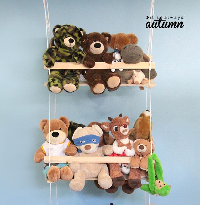 ways to organize kids toys