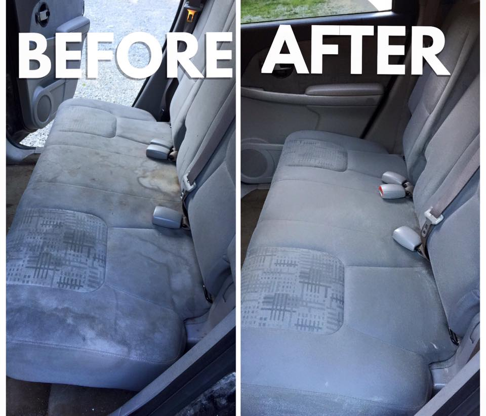 How To Clean Inside Of Your Car Cloth White Seats