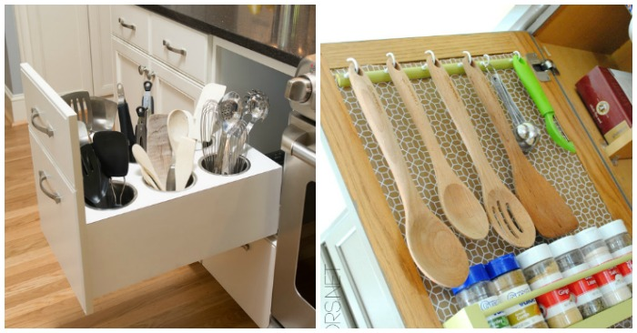 15 Easy (and Pretty) Ways to Organize Utensils