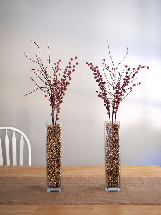 vase filler ideas 11 - Vase Design Ideas