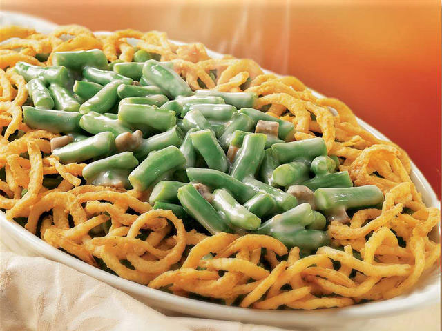 dish of classic green bean side