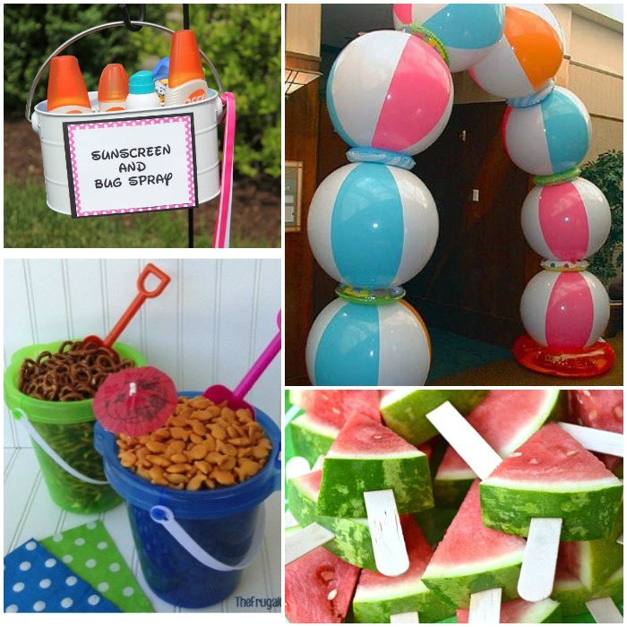 Easy Summer Party Ideas