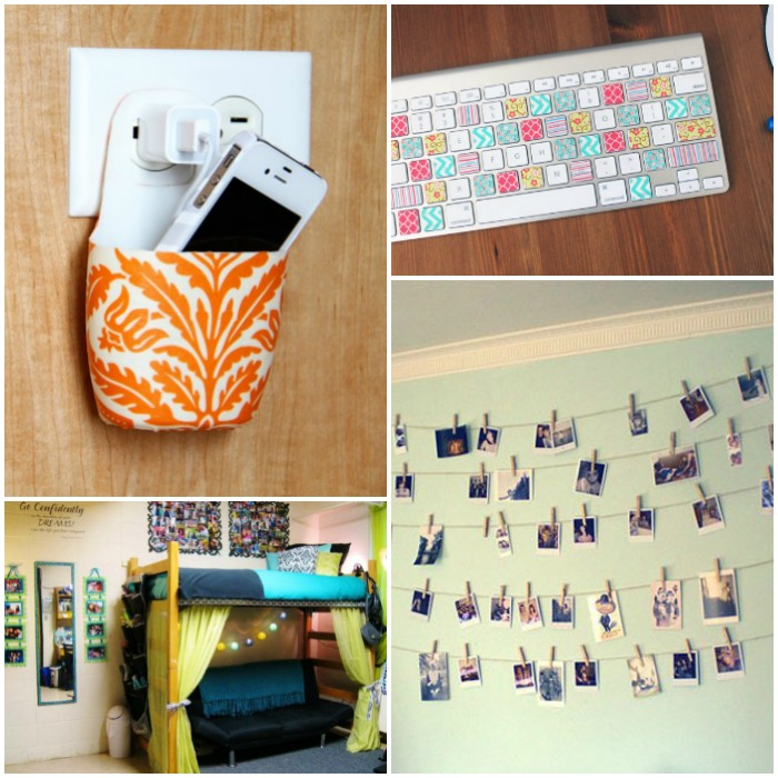 23 dorm room decor and organization ideas for Room decor organization
