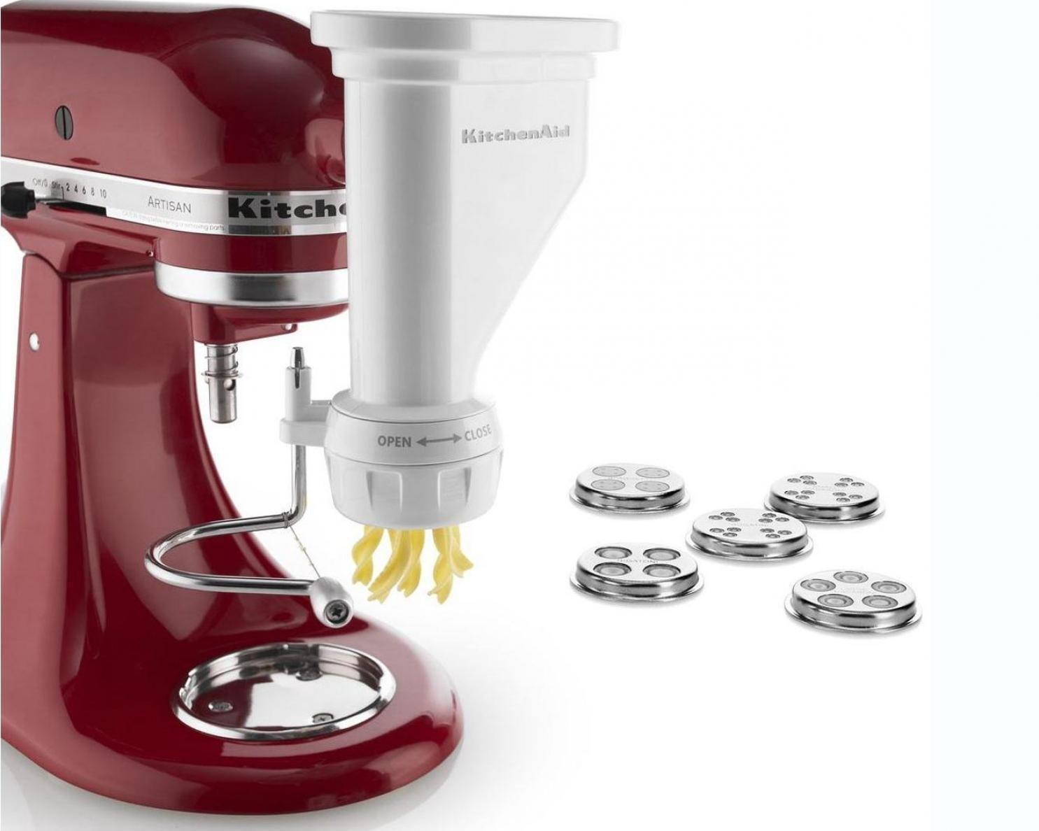 20 Amazing Kitchen Aid Mixer Attachments | www.onecrazyhouse.com