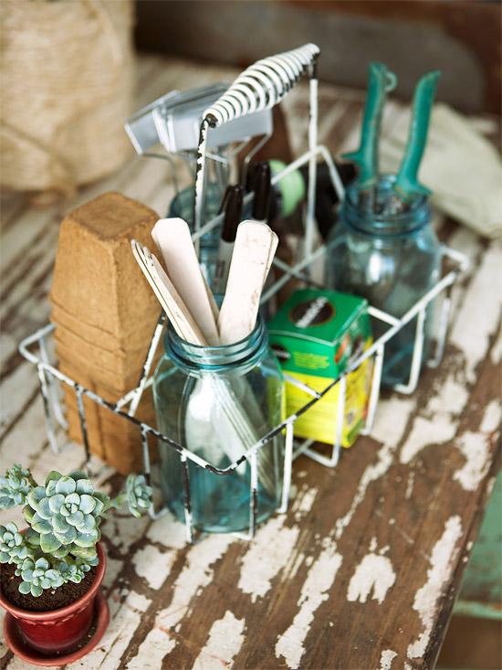organize garden tools 13