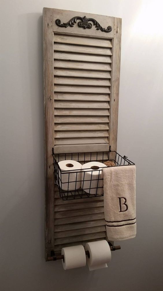 17 Ways Youve Never Thought To Reuse Old Shutters